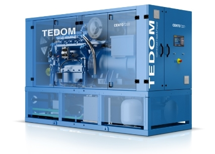 Cento 100-200 KW Tedom CHP Systems